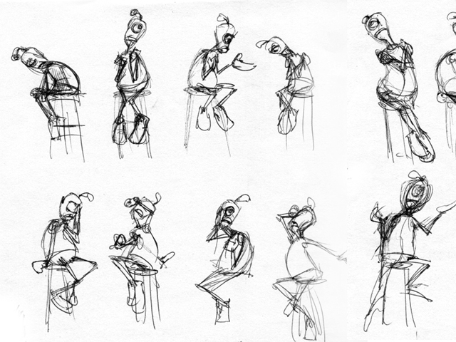 Key Poses Animation Poses From The Animation